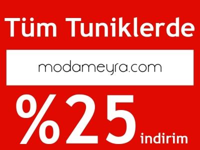 Modameyra'da Tüm Tuniklerde %25 İndirim Fırsatı