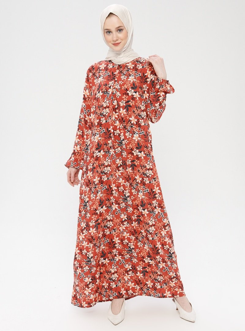 MisCats Tarçın A Pile Elbise