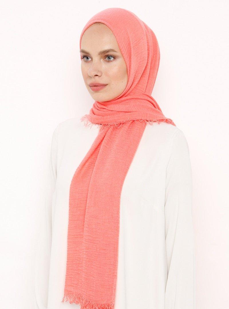 Soft Scarfs Somon Challis Layla Şal