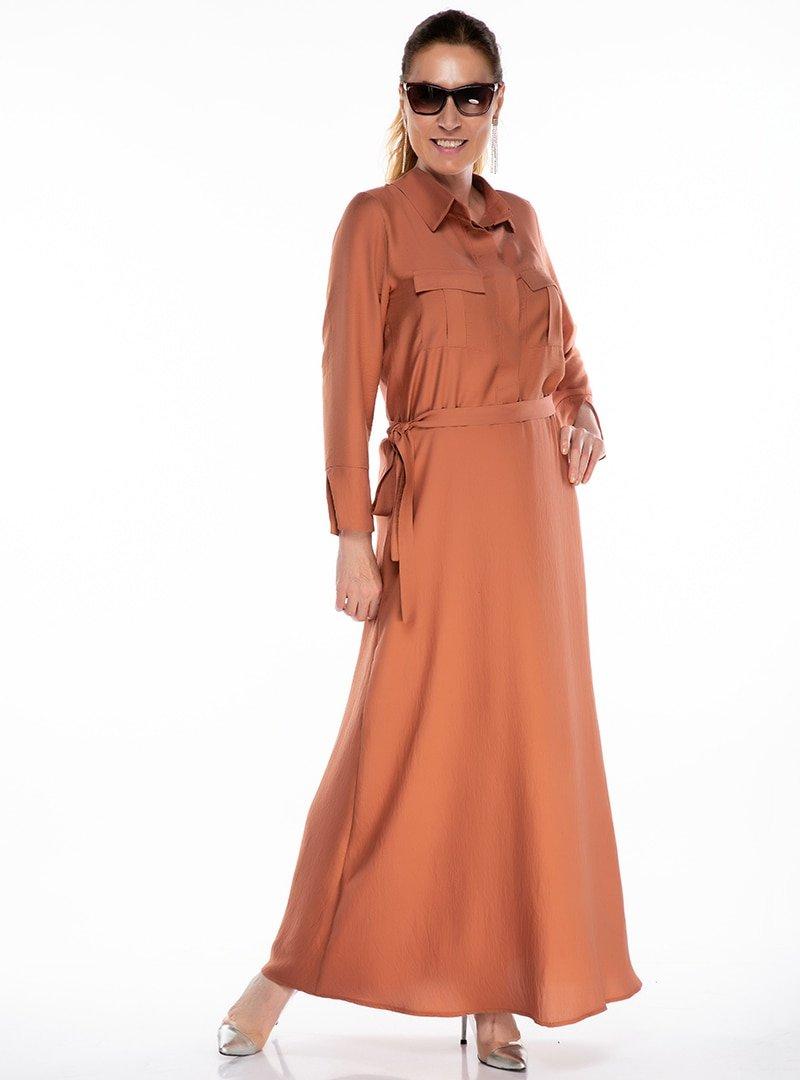 Melisita Tarcin Büyük Beden Elbise