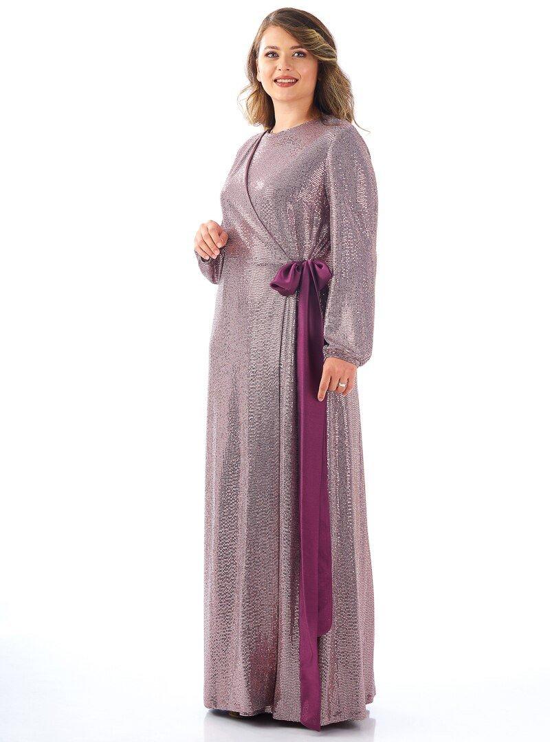 Saliha Mürdüm Anvelop Abiye Elbise