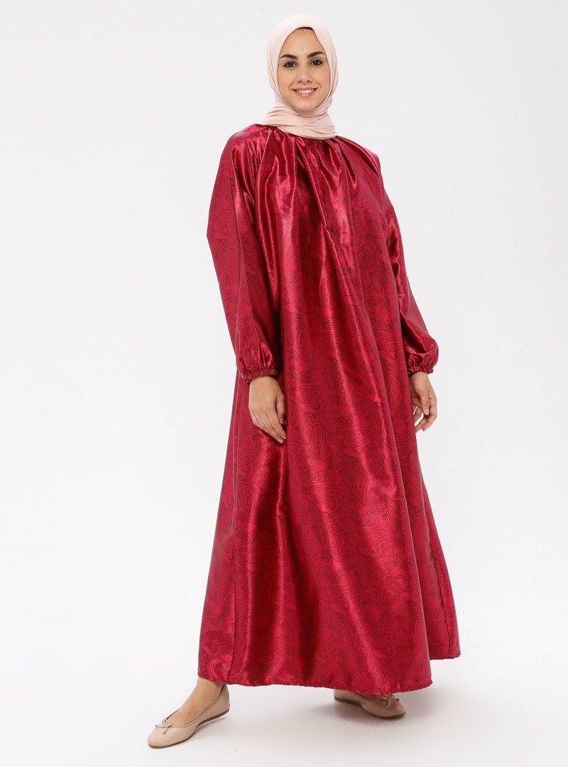ModaNaz Mürdüm Namaz Elbisesi