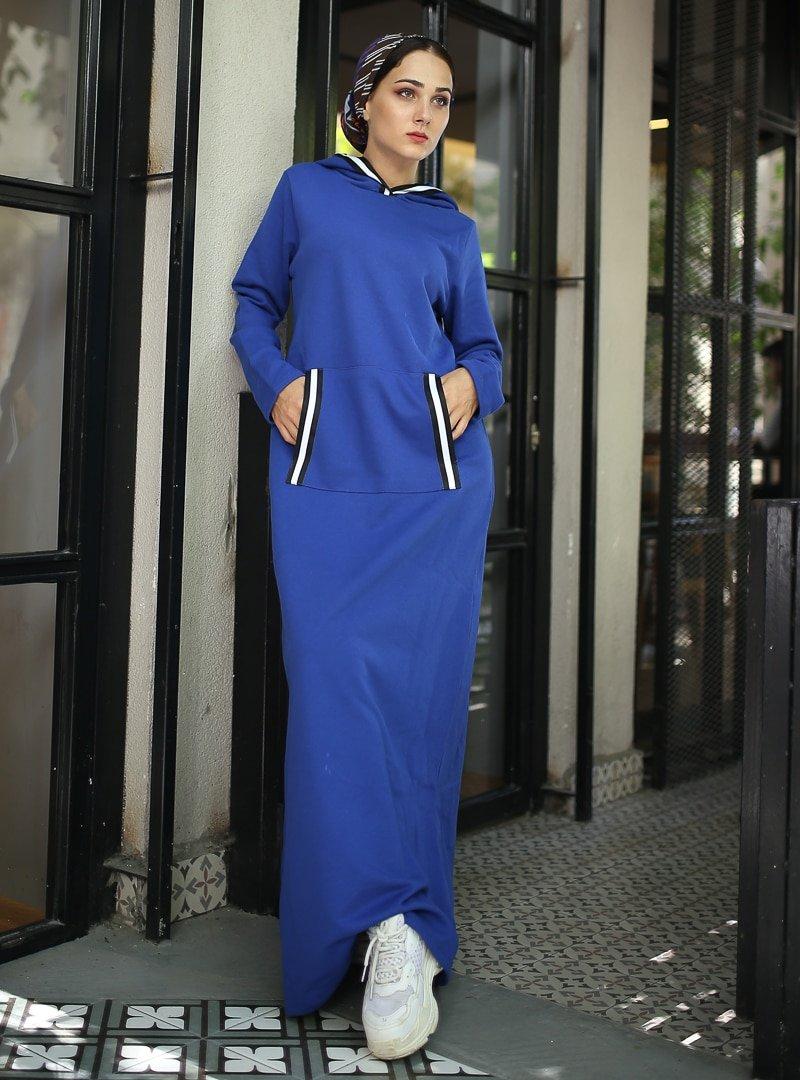 XTREND Saks Cep Detaylı Elbise