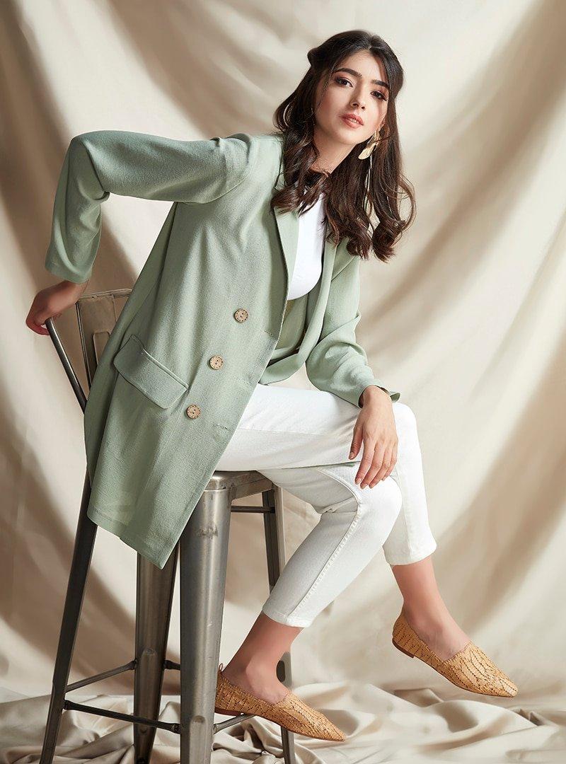 Nurbanu Kural Çağla Stil Ceket