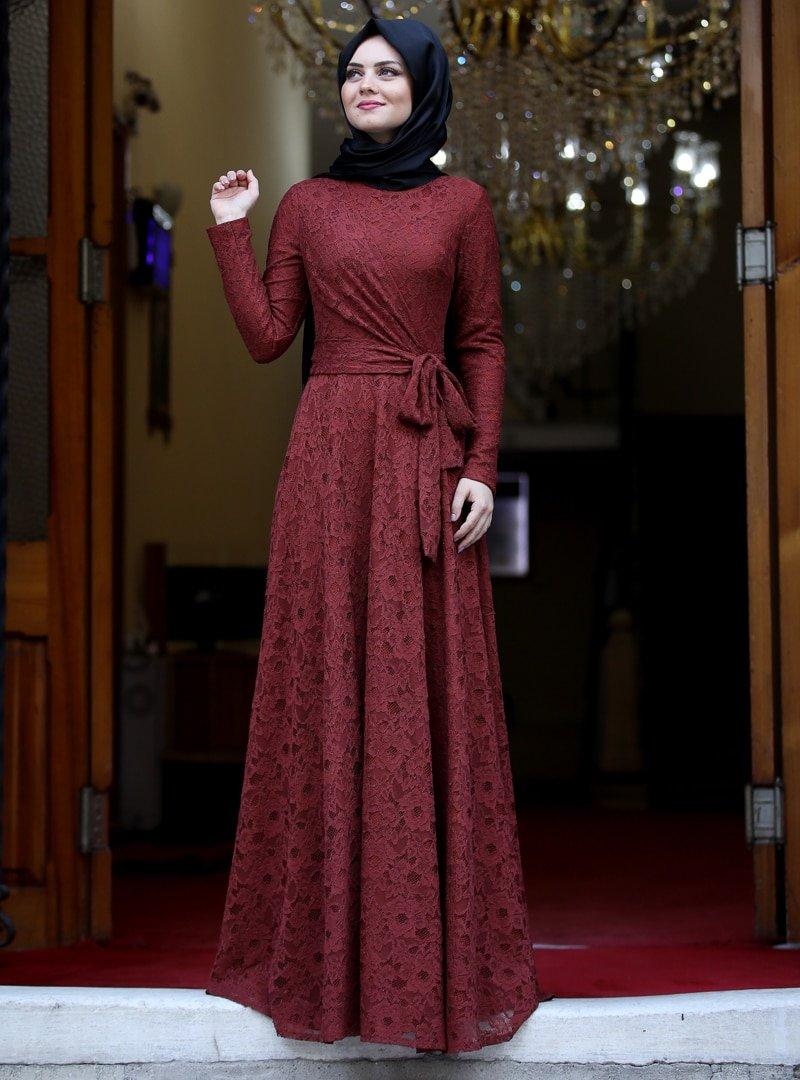 Ahunisa Kiremit Nisa Abiye Elbise