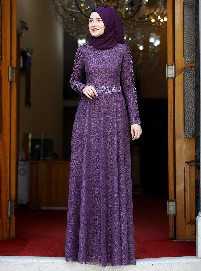Rana Zenn Mürdüm Dilara Abiye Elbise