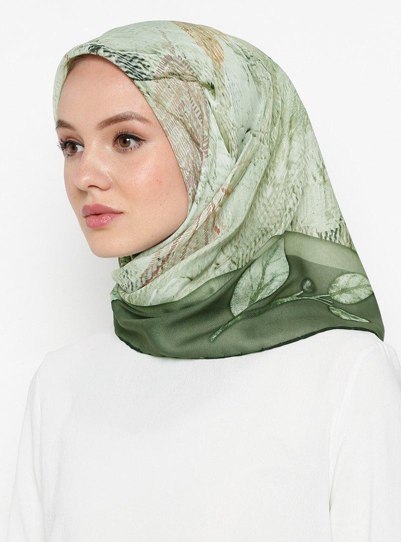 Miray Çok Renkli Shantuq Soft Eşarp