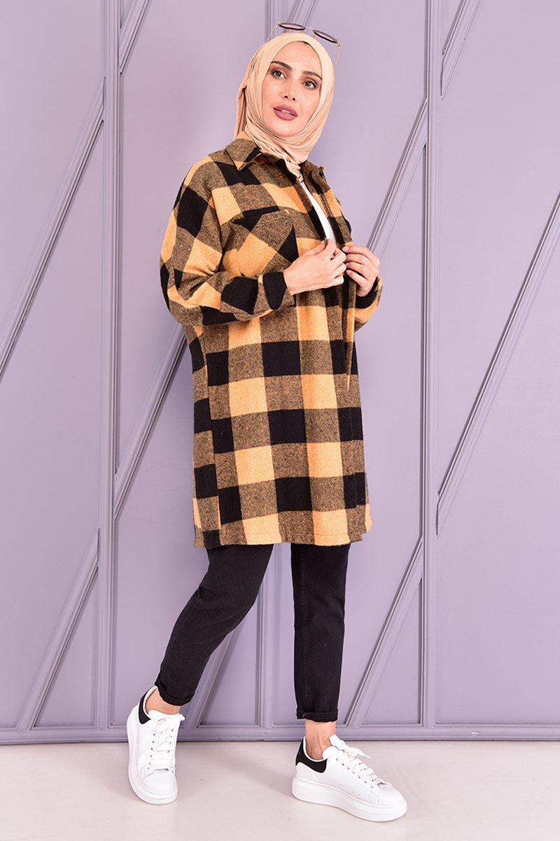 Moda Merve Hardal Oduncu Gömlek