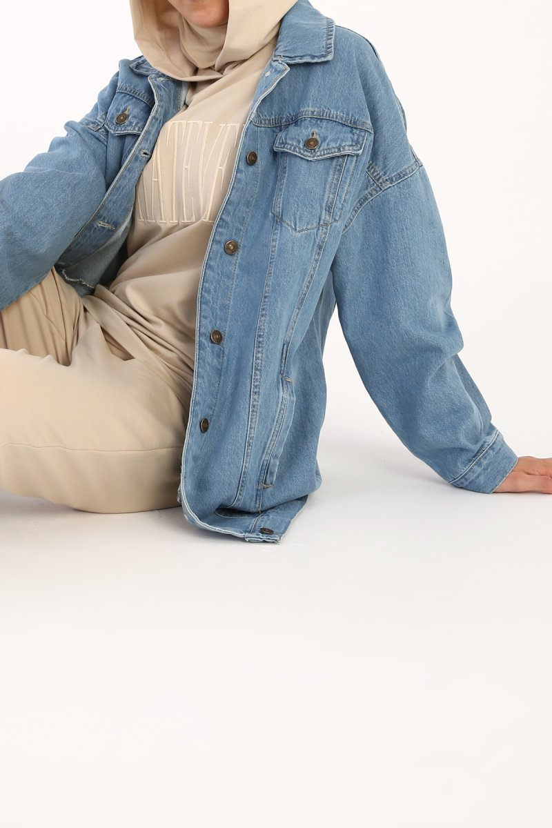 Allday Oversize Denim Ceket