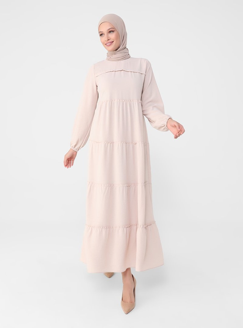 Refka Bej Balon Kollu Salaş Elbise