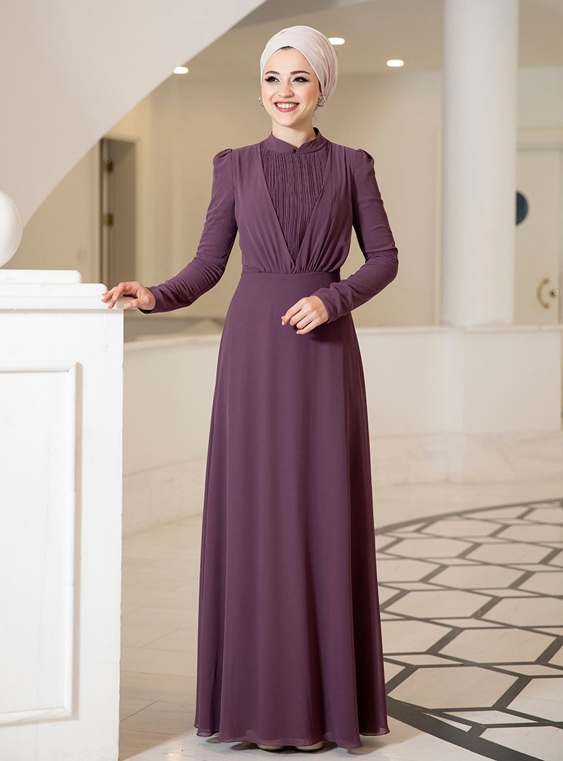 DressLife Mor Özüm Elbise