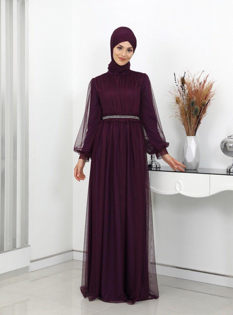Surikka Mürdüm Revza Abiye Elbise