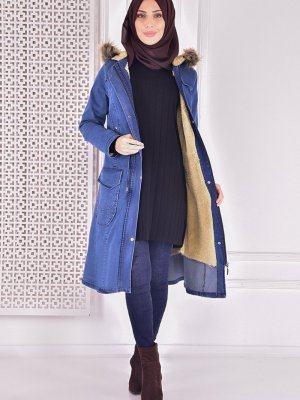 Moda Merve Kaban Mavi