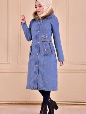Moda Merve Kaban Açık Mavi