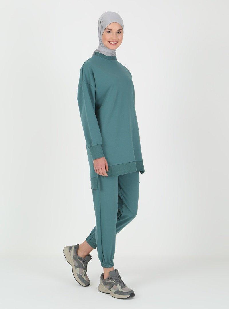 VUKKA Petrol Tunik & Pantolon İkili Takım
