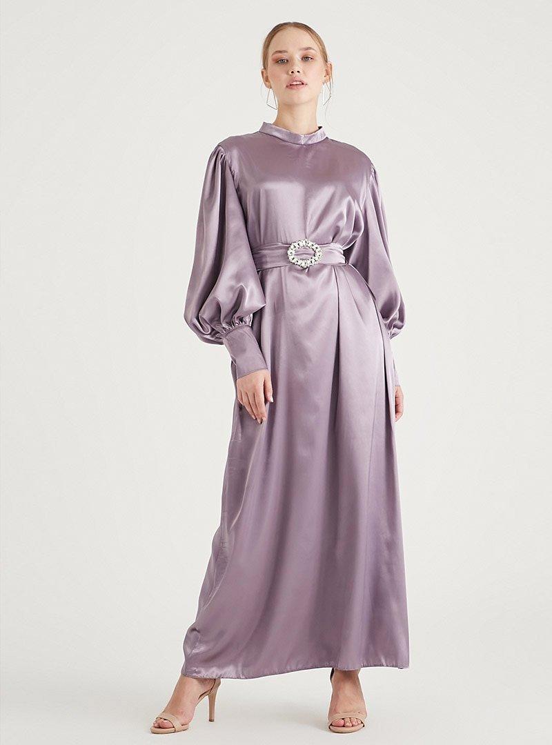 Birgül Bektaş Lila Owen Abiye Elbise