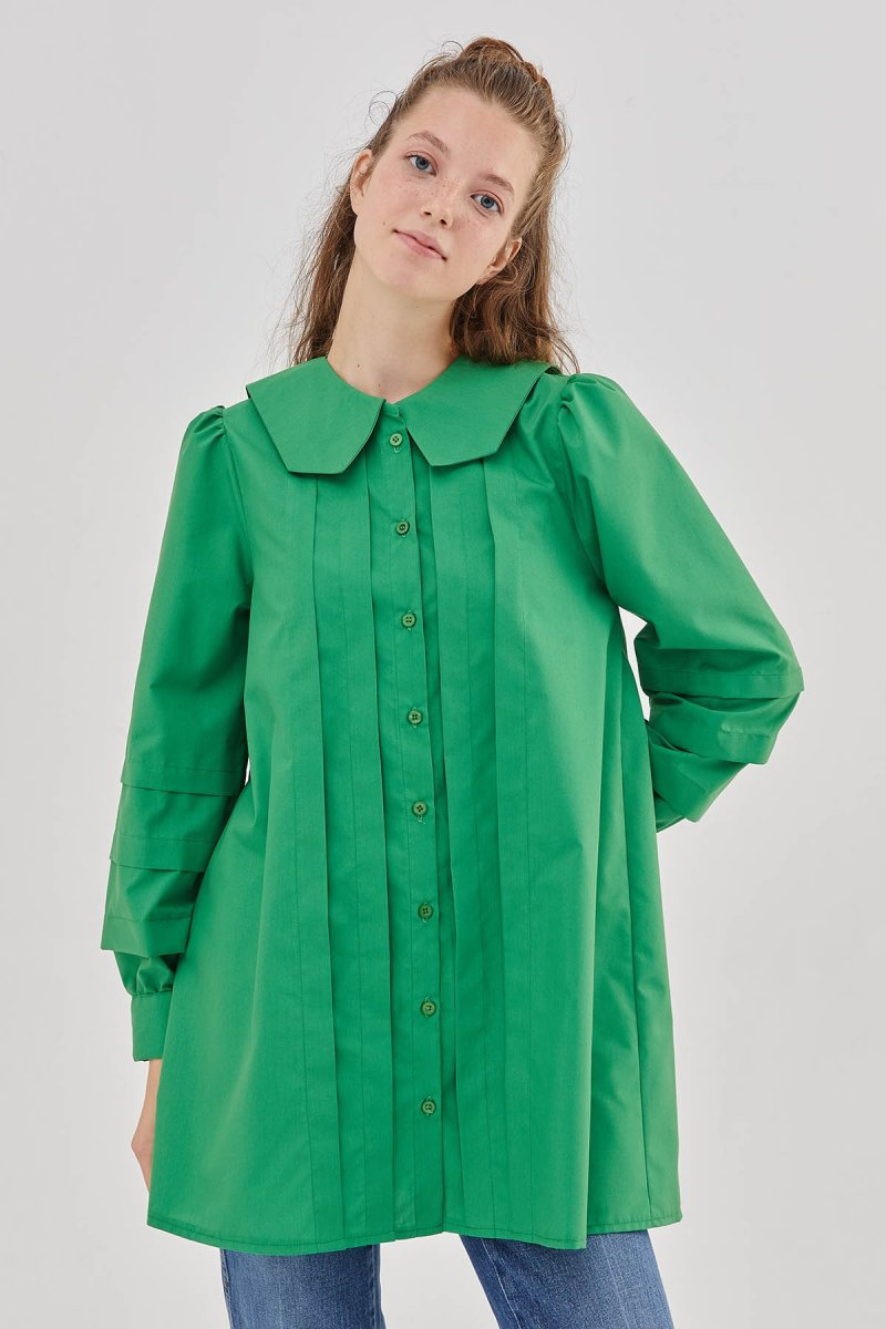 Hooopstore Yeşil Julia Gömlek