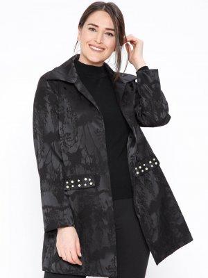 NZL Siyah İnci Detaylı Ceket